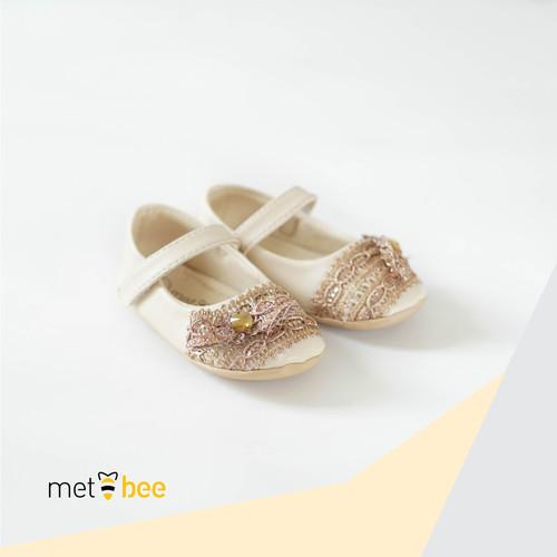 "Foto Produk Sepatu Bayi Metbee   Elmeera Cream ""The Mubarak Series"" - 2 dari Metbee Indonesia"