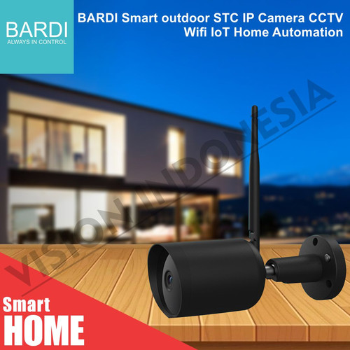 Foto Produk BARDI Smart outdoor STC IP Camera CCTV Wifi IoT Home Automation - UNIT ONLY dari VISION INDONESIA