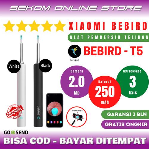 Foto Produk Xiaomi Bebird Pembersih Telinga - T5 Smart Camera - Black dari SEKOM ONLINE STORE