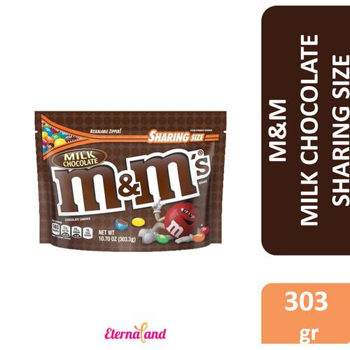 Foto Produk M&M Chocolate Sharing Size - cokelat m&m aneka rasa - MilkChocolate dari Eternaland