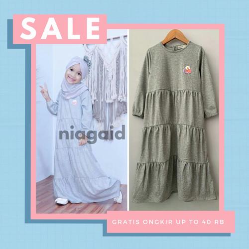 Foto Produk Gamis Lebaran Anak Perempuan Cewek 1-10 Tahun Baju Busana Muslim New - size 2 dari niagaid