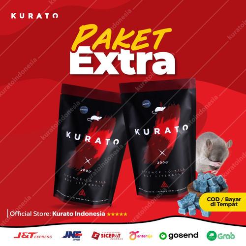 Foto Produk DUA PACK KURATO BASMI TIKUS GOT TIKUS BESAR RACUN KURATO PALING AMPUH dari KURATO INDONESIA