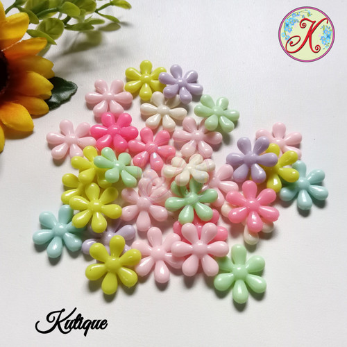 Foto Produk Parel Bunga Lili / Mote Bunga per 50pcs dari Kutique Craft