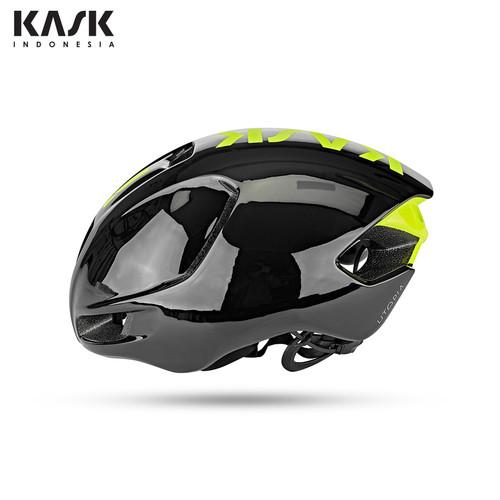 Foto Produk KASK UTOPIA - BLACK/YELLOW FLUO - S dari Toko Helm Sepeda Resmi