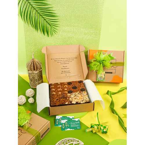 Foto Produk Brownies Fudgy Dark Chocolate TERMURAH dari Chan Patisserie