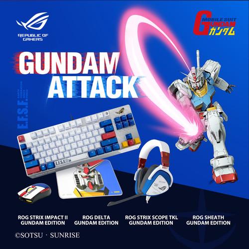 Foto Produk Asus ROG Delta GUNDAM EDITION - Gaming Headset dari Enter Komputer Official