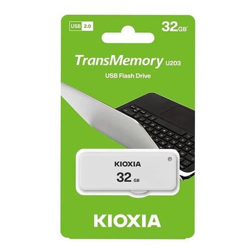 Foto Produk Flashdisk Kioxia 32gb USB 2.0 32 gb Transmemory Hayabusa dari PojokITcom Pusat IT Comp