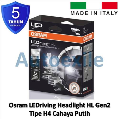 Foto Produk Osram LEDriving HL H4 Gen2 6000K Putih Italy 9726CW Lampu Mobil LED dari Autoexile