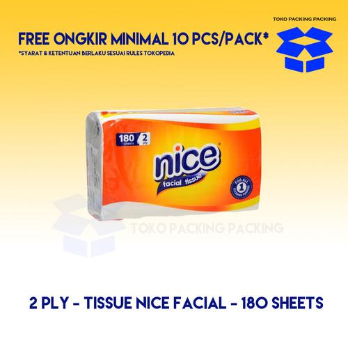Foto Produk NICE Tissue Facial 180 LEMBAR - 2 ply - Ekonomis dari Packing Packing