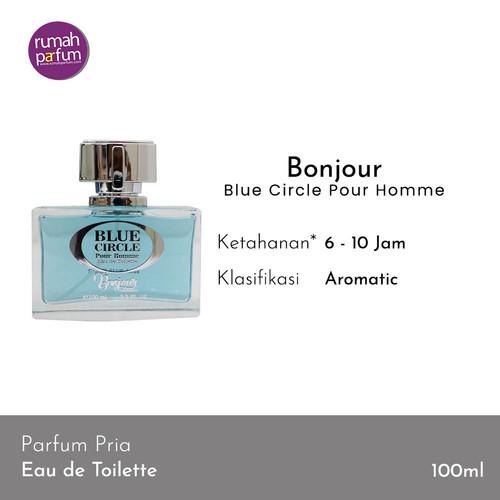 Foto Produk Bonjour Parfum Orginal Blue Circle Pour Homme 100 ML dari Rumah Parfum