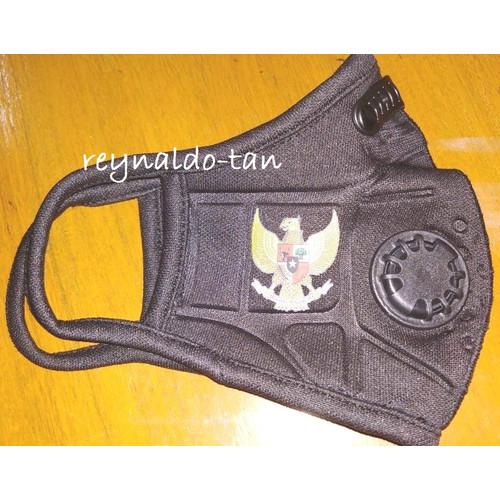 Foto Produk Masker Premium Variasi Timbul Ventilator 3 ply Logo Garuda dari reynaldo-tan