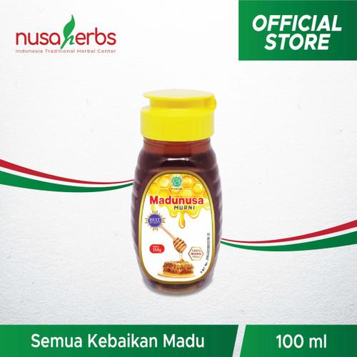 Foto Produk Madunusa Murni 100 ml - 100% madu pilihan berkhasiat tinggi dari Nusaherbs