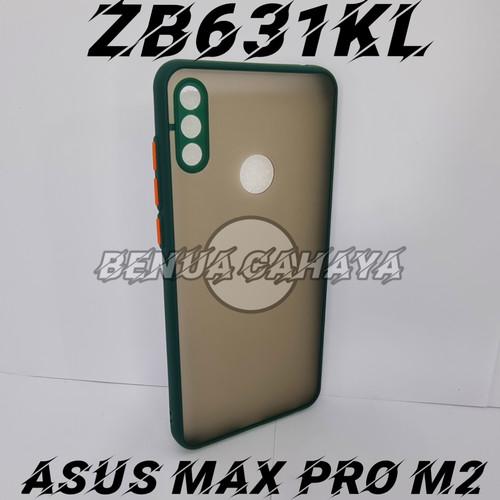 Foto Produk CASE DOVE ASUS ZENFONE MAX PRO M2 MATE TRANSPARAN SLIM FUZE MAKARON - hijau tua dari BENUA CAHAYA