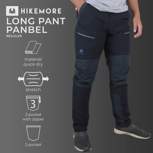 Foto Produk Celana Panjang Outdoor Gunung Quickdry Razzor Panbel Reg Original - HM Blackgrey, L dari Razzor Travelwear