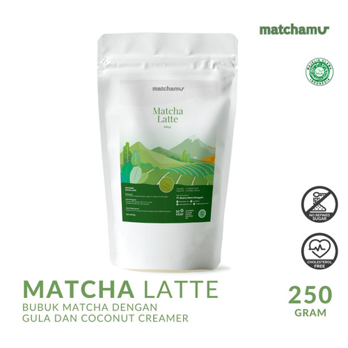 Foto Produk Matcha Latte Powder 250gr dari matchamu