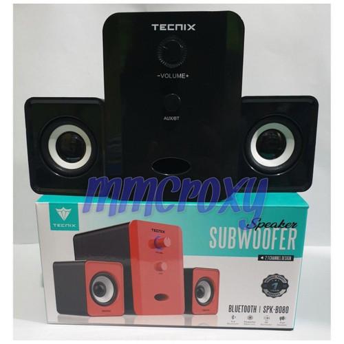 Foto Produk Tecnix SPK-B080 Speaker Bluetooth Subwoofer - Hitam dari mmcroxy.onlineshop