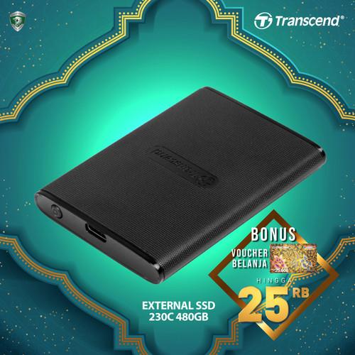 Foto Produk Transcend External SSD ESD230C - 480GB dari Transcend Indonesia