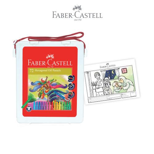 Foto Produk Faber Castell Hexagonal Oil Pastel 72 dari Faber-Castell