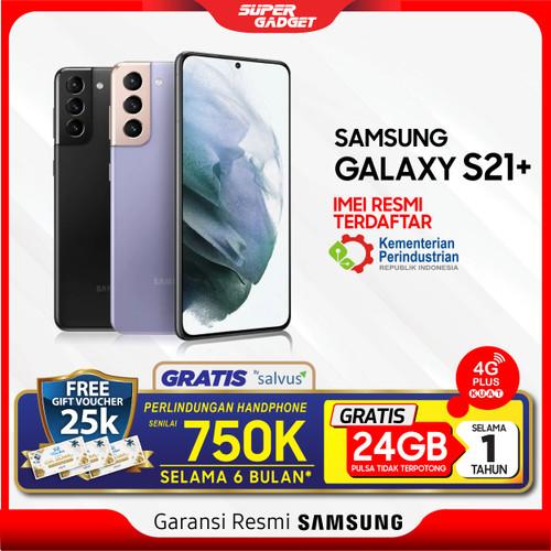 Foto Produk Samsung S21 Plus 5G 8/128 8/256 GB Galaxy Kamera 8K S21+ RAM 8 ROM 128 - Phantom Black,S21+ 8256GB dari SUPER_GADGET