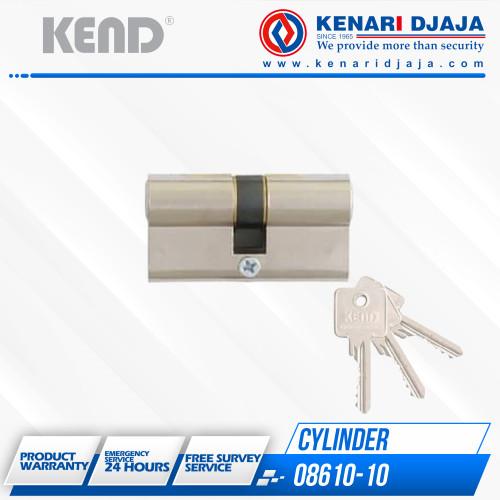 Foto Produk Kunci Pintu Double Cylinder KEND 08610-10 US14 dari Kenari Djaja