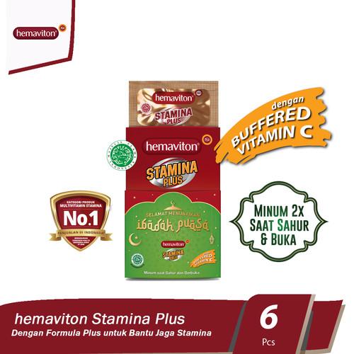 Foto Produk Hemaviton Stamina Plus Multivitamin Kapsul [isi 6 strip] dari Tempo Store Official