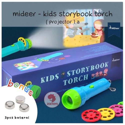 Foto Produk Zoetoys Mideer - Kids Storybook Torch ( Projector )   mainan edukasi dari zoetoys