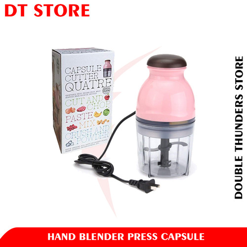 Foto Produk DT Blender Capsule Cutter Quatre / Blender Kecil dari Double Thunders Store