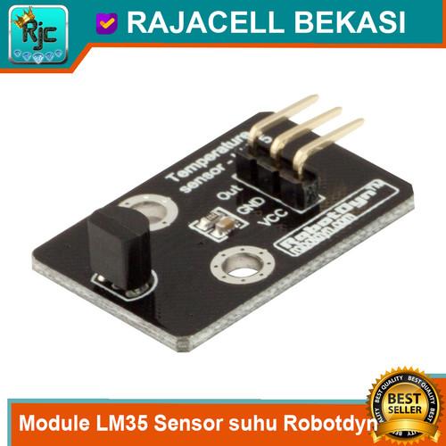 Foto Produk Module LM35 Robotdyn Sensor Suhu Temperature Thermal Analog Sensor dari RAJACELL BEKASI