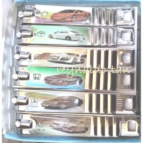 Foto Produk 12 Pcs Gunting Kuku Besar Motif Mobil Keren panjang 7 cm Maxowell dari reynaldo-tan