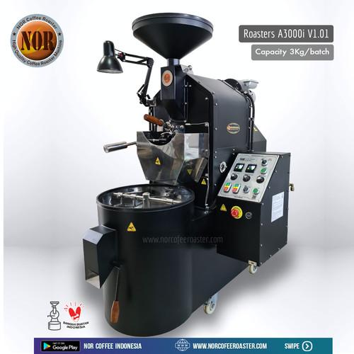 Foto Produk Mesin Roasting Kopi A3000i Capacity 3kg/batch dari NOR Coffee Indonesia