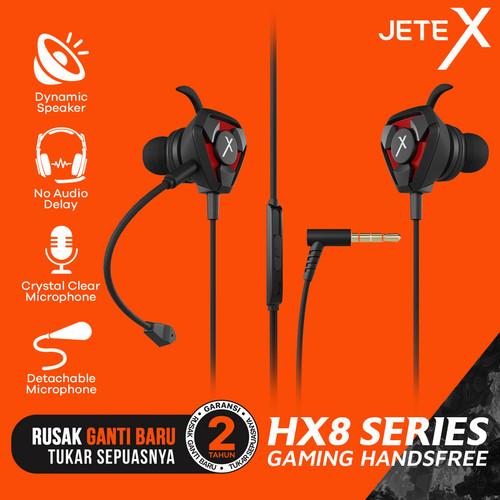 Foto Produk Earphone I Earbuds I Headset Gaming with Mic JETEX HX8 - Garansi Resmi dari JETE Official Surabaya