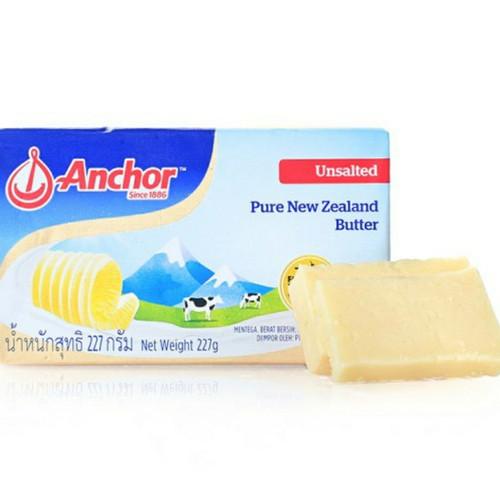 Foto Produk Anchor Butter - Unsalted 227 g - tanpa mika dari liebeec