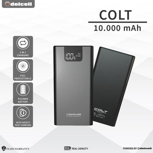 Foto Produk Delcell COLT 10000mAh Power Bank Real Capacity Fast Charging dari DelCell