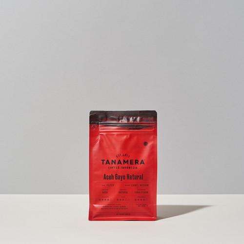Foto Produk ACEH GAYO NATURAL 250GR, COFFEE BEANS / BIJI KOPI TANAMERA COFFEE - Whole Beans dari Tanamera Coffee