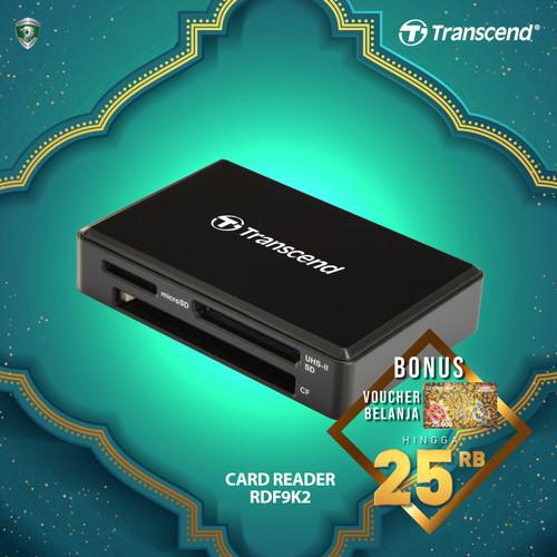 Foto Produk Transcend Card Reader USB 3.0 RDF9 dari Transcend Indonesia
