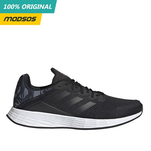 Foto Produk Sepatu Running Adidas Duramo SL Black Camo Pria Original dari Modsos