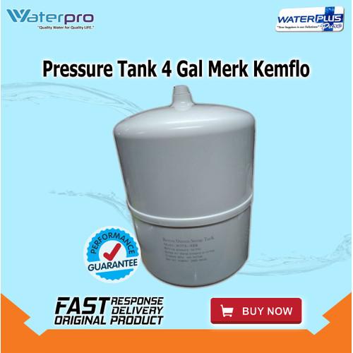 Foto Produk Pressure Tank 4 Gal , Merk Kemflo dari WaterplusPure