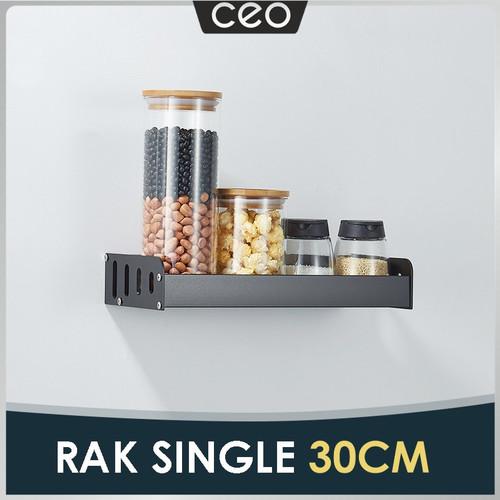 Foto Produk CEO Rak Bumbu Dapur Dengan Gantungan Pengait Rak Bumbu Dapur Gantung - Panjang 30cm, Tanpa Pengait dari CEO Official Store