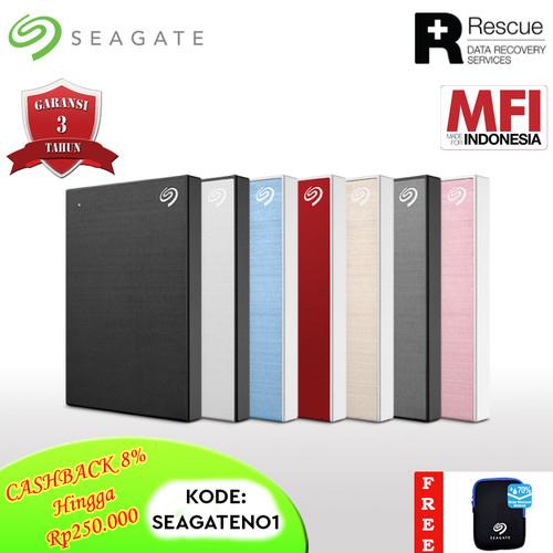 Foto Produk Seagate Backup Plus Slim Hardisk Eksternal 2TB USB3.0 PCPN - Merah dari Seagate Official Store