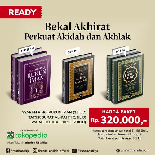 Foto Produk Perkuat Akidah dan Akhlak - Dr. Firanda Andirja, MA - Paket 3 Judul dari Marketing Uf Office