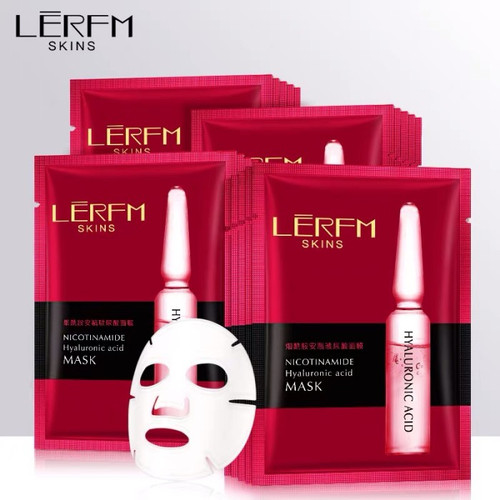 Foto Produk LERFM SKINS SKIN NICOTINAMIDE HYALURONIC ACID MASK MASKER WAJAH KOREA dari Bursa Cosmetik Murah