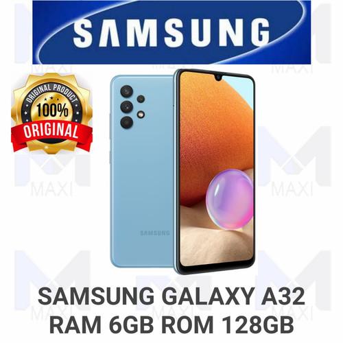 Foto Produk Samsung Galaxy A32 6/128 Ram 6GB Rom 128GB Garansi Resmi - BLACK dari Maxi phone cell