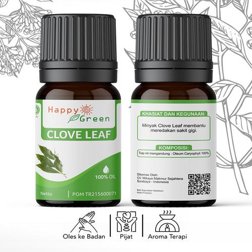 Foto Produk Happy Green Minyak Atsiri Daun Cengkeh 30 ml Clove Leaf Essential Oil dari Happy Green Garden - SBY