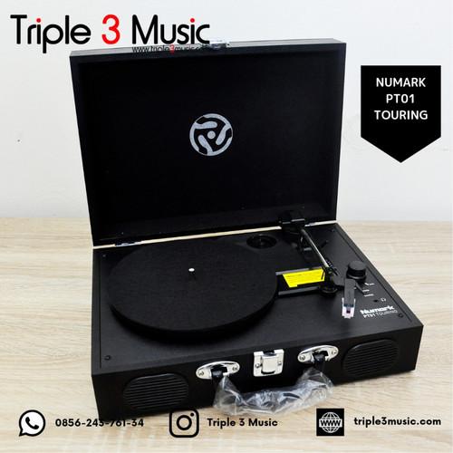 Foto Produk Numark PT01 numark PT 01 Touring Portable Turntable - PT01 TOURING dari triple3music