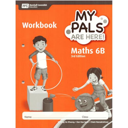 Foto Produk My pals are Here Maths 6A-6B Workbook 3rd Edition - 6B dari Little Bookworm
