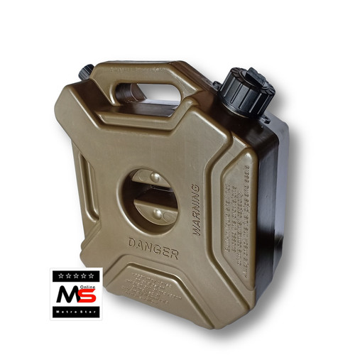Foto Produk Jerigen Plastik 5 liter cocok untuk cadangan Bensin Motor dari Metro Star Online