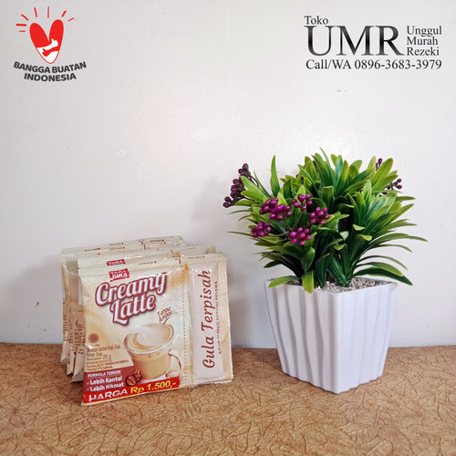 Foto Produk Kopi Torabika Creamy Latte Dengan Gula Terpisah 1 Renceng 10 Sachet dari UMR Retail