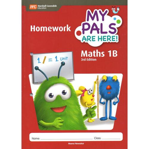 Foto Produk My Pals Are Here Maths Homework 1A - 1B - Homework 1B dari Little Bookworm