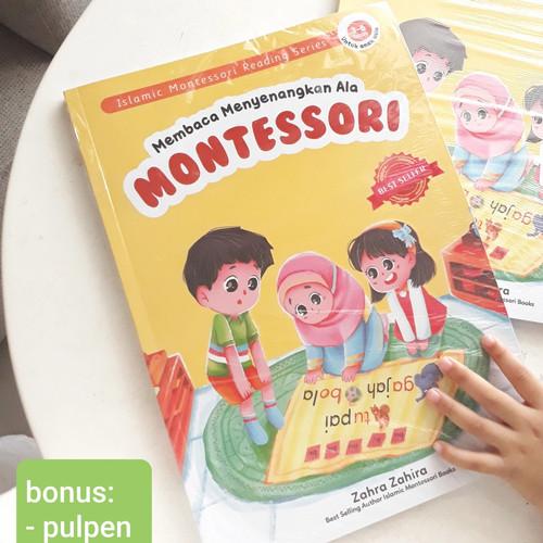Foto Produk BUKU ANAK MEMBACA MENYENANGKAN ALA MONTESSORI [MONTESSORI BOOK] - MM+Bonus Pulpen, bubble wrap dari Laisbookstore Official