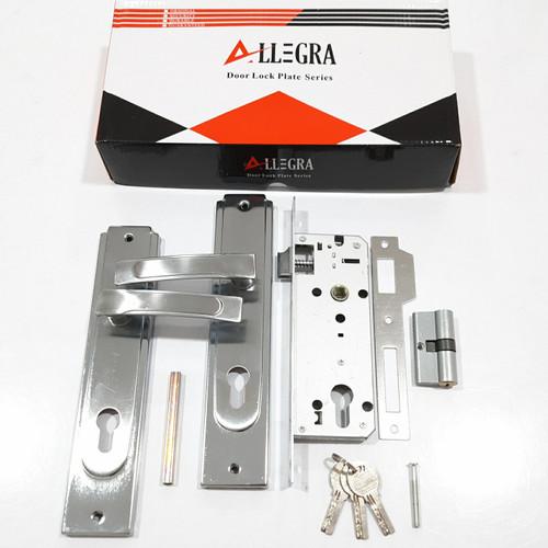 Foto Produk Kunci Pintu Set + SILINDER Komplit / Handle Gagang Tarikan SN/CP dari JOSH WALLACE